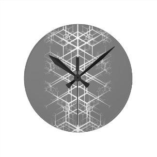 gris del katagami n11 reloj redondo mediano