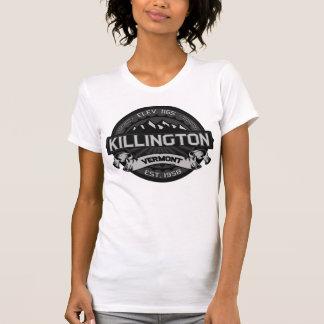 Gris del logotipo de Killington Camiseta