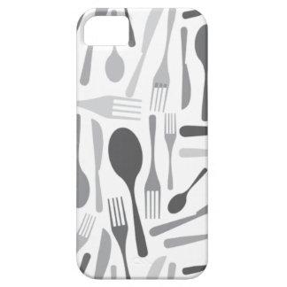 Gris del modelo del cocinero de la cocina de la iPhone 5 Case-Mate fundas