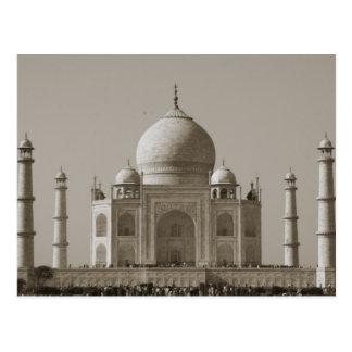 gris del Taj Mahal Postal