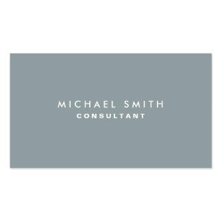 Gris elegante llano profesional del decorador de i plantillas de tarjeta de negocio