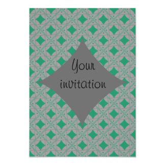 gris et vert patterns card