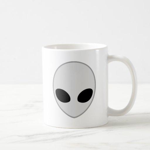 gris extranjero tazas