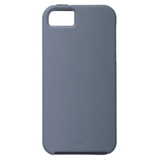 Gris fresco a la pendiente de la vertical del carb iPhone 5 Case-Mate cárcasa