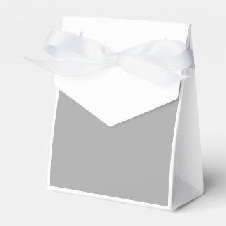 Gris oscuro cajas para regalos de fiestas