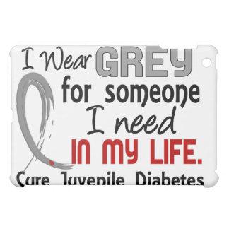 Gris para alguien necesito la diabetes juvenil