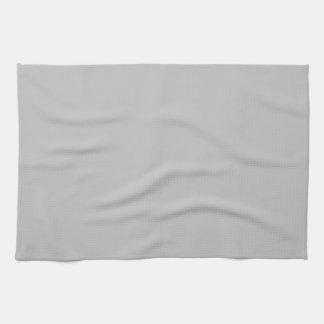 Gris plateados toallas de mano