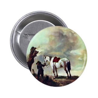 Gris., por Philips Wouwerman (la mejor calidad) Pins