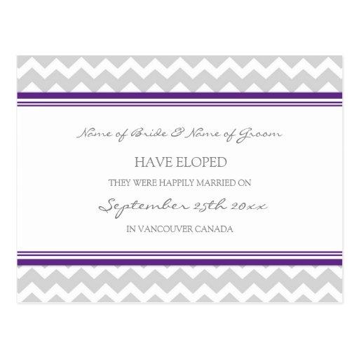 Gris púrpura de las postales de la invitación de l