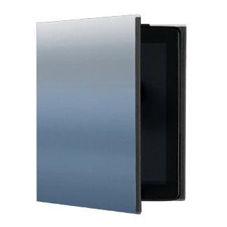 Gris teñido inmersión gris de Ombre de la acuarela iPad Protector