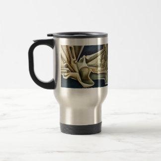 Gris vital tazas de café