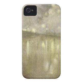 Gris y oro - canal del Nocturne de James McNeill iPhone 4 Cobertura