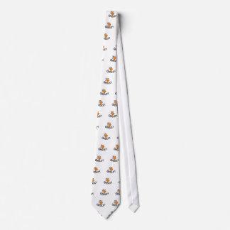 Grisáceo Corbata Personalizada