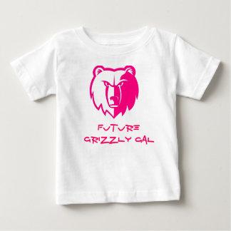 Grisáceo galón camisetas
