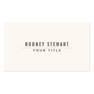 Grisáceo genérico minimalista moderno plantillas de tarjeta de negocio