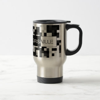Grisaille (gray scale) Art Studio Travel Mug