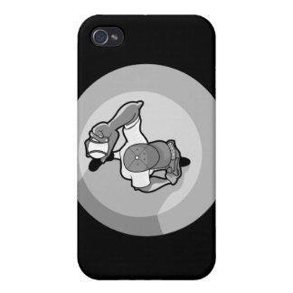 grises de arriba de la opinión de la echada de la  iPhone 4/4S carcasa