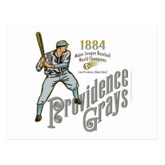 Grises de Providence de Rhode Island Tarjeta Postal