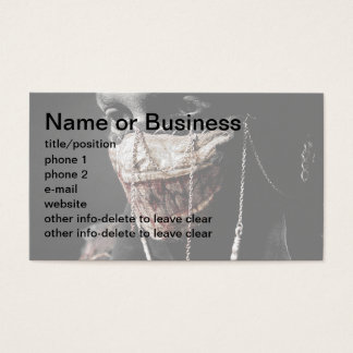 Grisly Retrospection Business Card