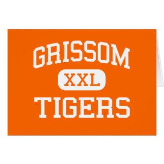 Grissom - Tigers - High - Huntsville Alabama Greeting Card