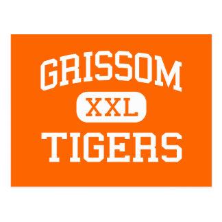 Grissom - Tigers - High - Huntsville Alabama Post Card