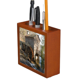 Grist Mill at Stone Mountian Georiga Pencil Holder
