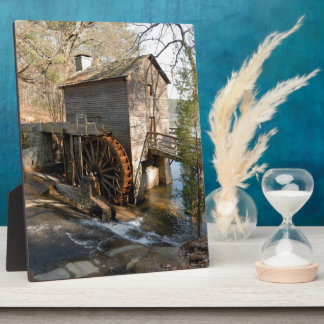 Grist Mill at Stone Mountian Georiga Plaque