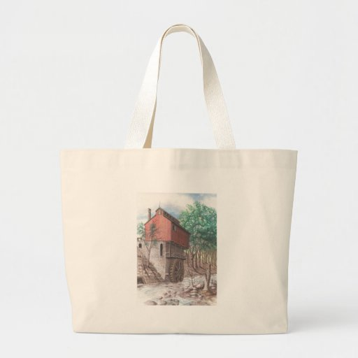 Grist Mill Tote Bags