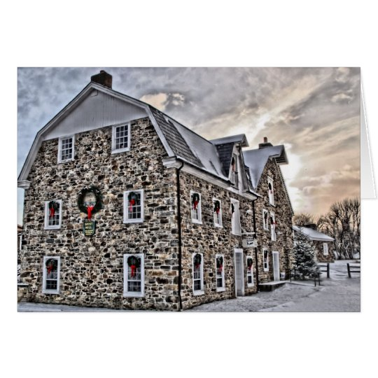 Grist Mill Christmas Card