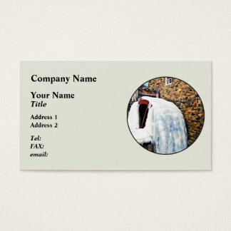 Grist Mill in Winter Business Card