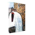 Grist Mill in Winter Canvas Print