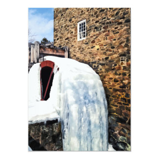 Grist Mill in Winter Card