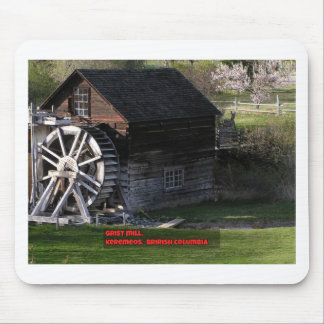 Grist Mill, Keremeos, BC, Canada Mouse Pad