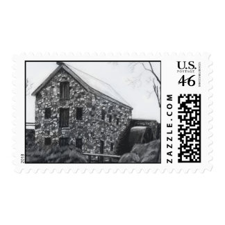 Grist Mill Postage Stamps