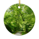 Grist Mill Trail I Patapsco State Park Maryland Ceramic Ornament