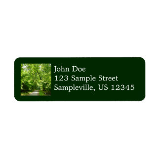 Grist Mill Trail I Patapsco State Park Maryland Label