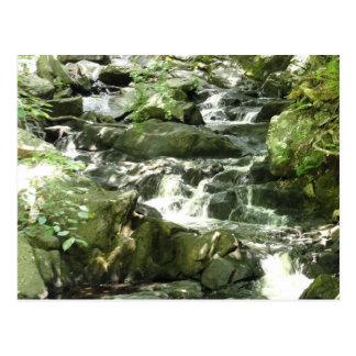 Grist Mill waterfall Postcard