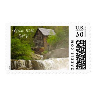 Grist Mill WV postage stamp