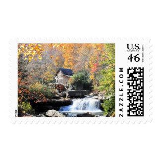 Grist Mills Falls Postage Stamp