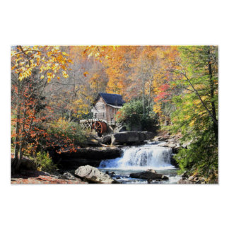 Grist Mills Falls Poster