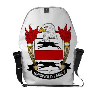 Griswold Family Crest Messenger Bag