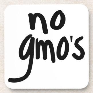 Grita ningún GMO protege nuestra comida Posavasos De Bebida