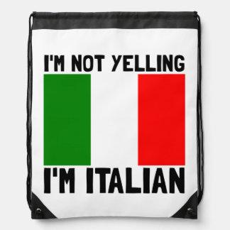 Griterío de italiano mochilas