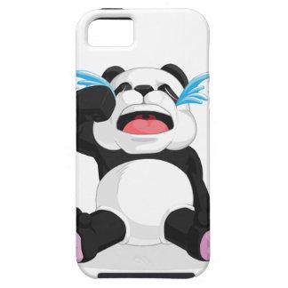 Griterío de la panda iPhone 5 cárcasa