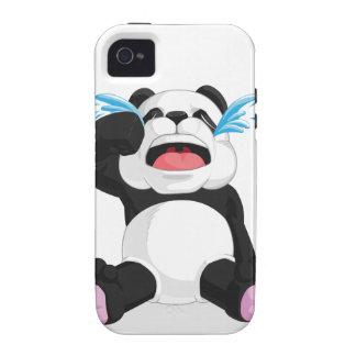 Griterío de la panda vibe iPhone 4 fundas