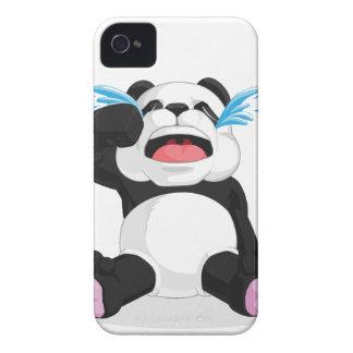 Griterío de la panda Case-Mate iPhone 4 funda