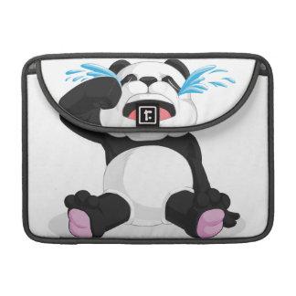 Griterío de la panda funda para macbook pro