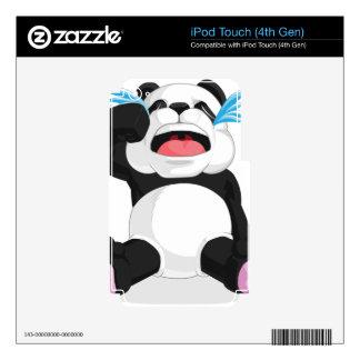 Griterío de la panda skins para iPod touch 4G