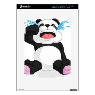 Griterío de la panda iPad 3 skins