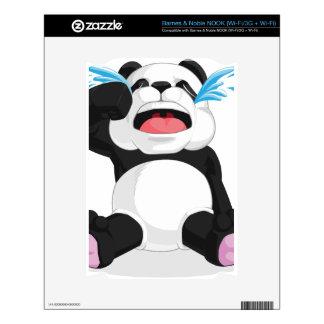 Griterío de la panda NOOK calcomanías